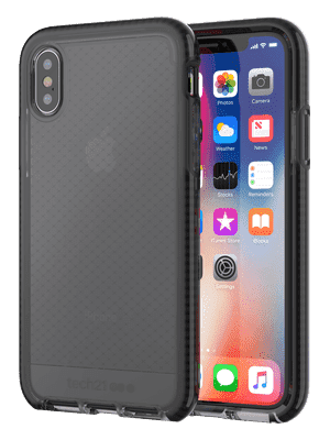 Tech21 Evo Check For iPhone X Smokey/Black - Apple iPhone X 64GB Silver accessory Tradeline