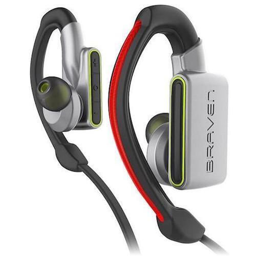 Braven Flye Sport Silver/Green | Tradeline Egypt Apple